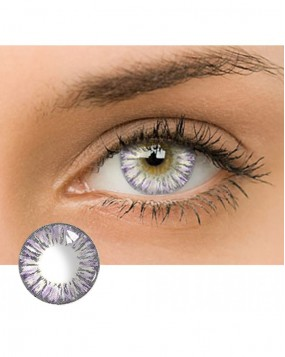 4ICOLOR® Dream Flower Colored contact lens-Purple