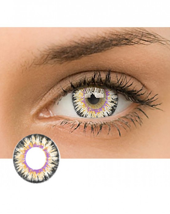 4ICOLOR® Dreamy Colored Contacts-Brown