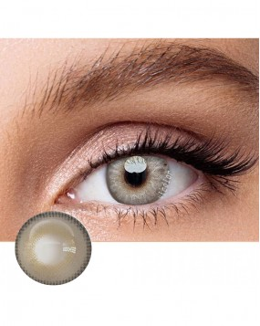 4icolor® 3 Tone colored contact lens Himalaya Grey