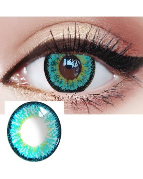 4ICOLOR®Ice Green Colored Circle Contact Lenses one pair