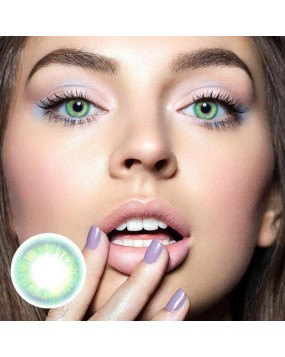 4ICOLOR® Colored Contact Lenses Neo Green