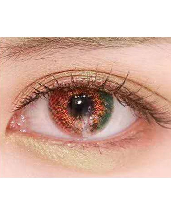 4ICOLOR MILKY STAR CONTACTS LENSES-Green