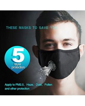 N99 CoronaVirus Face Mask (Buy 1 Get 1 FREE)-Black