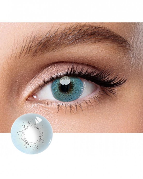 4ICOLOR® Colored Circle Contact Lens Ocean Blue
