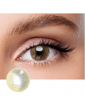 4ICOLOR® Colored Circle Contact Lens Ocean Brown