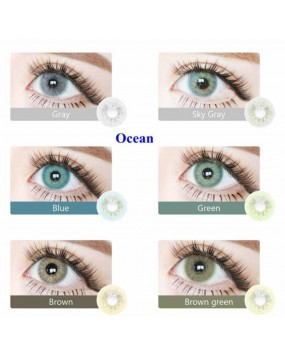 4ICOLOR® Colored Circle Contact Lens Ocean Pink
