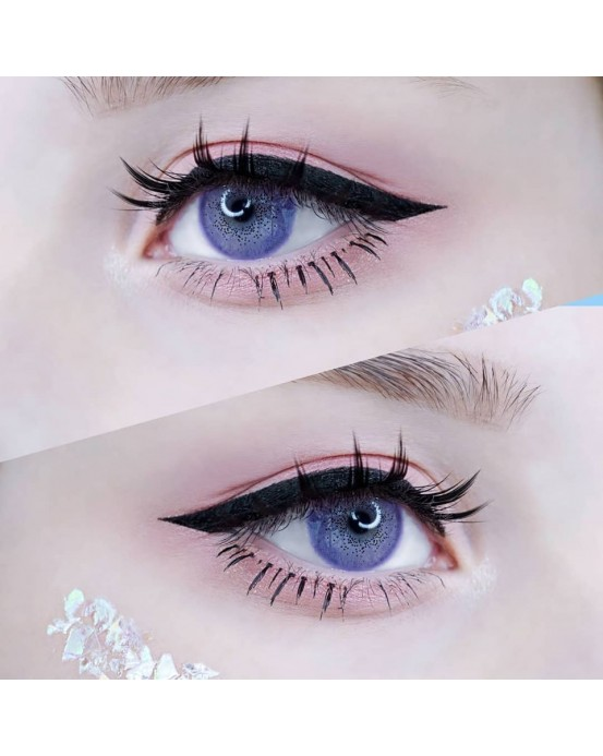 4ICOLOR® Colored Circle Contact Lens Ocean Purple