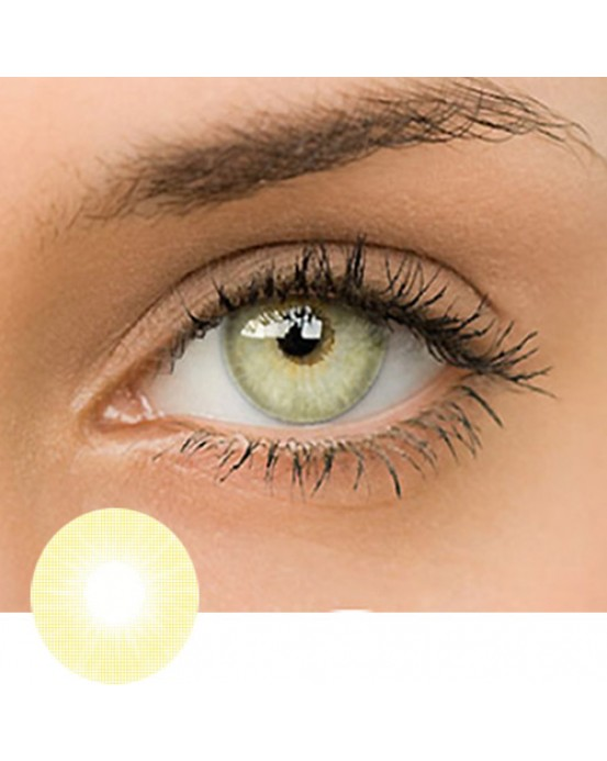 4ICOLOR® CONTACTS LENSES Polar Lights Yellow-Green