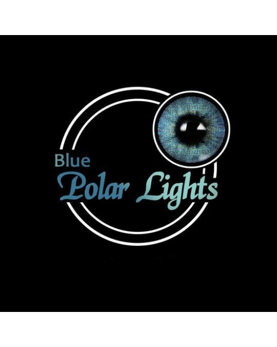 4ICOLOR® Colored contacts Polar Lights Blue