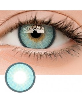4ICOLOR® Colored contacts Polar Lights II Blue