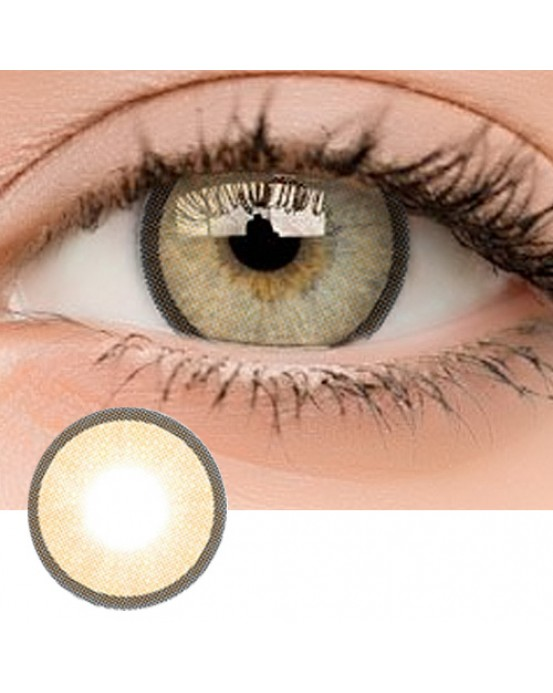 4ICOLOR® Colored contacts Polar Lights II Brown