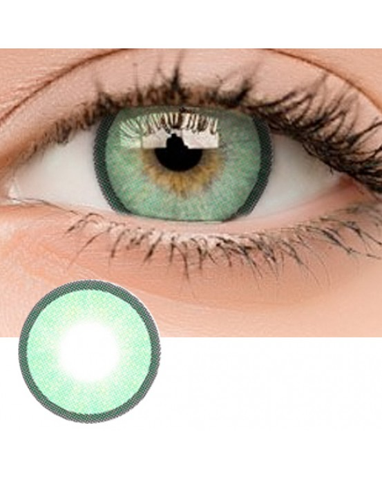 4ICOLOR® Colored contacts Polar Lights II Green