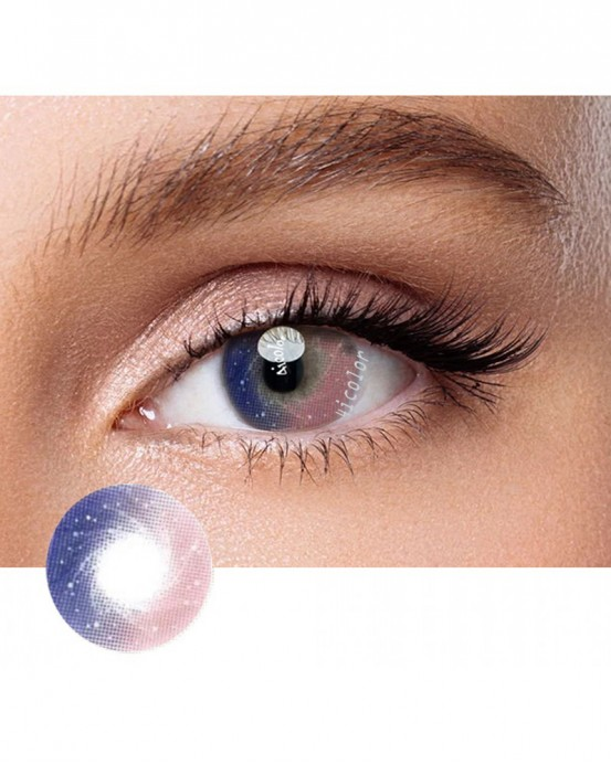 4ICOLOR® Galaxy Pink Colored circle Contacts lenses